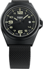 Traser P59 Essential M Black Milanese PVD-Coated Stainless Steel 108206