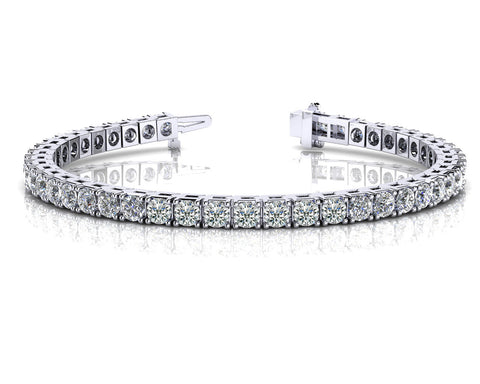 Radiant Round Diamonds Bracelet