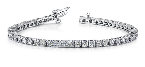 Classic Diamond Prong Set Bracelet