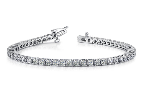 Elegant Prong Diamond Bracelet