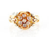 Antique 14k Tri-tone Rose-White-Yellow Gold