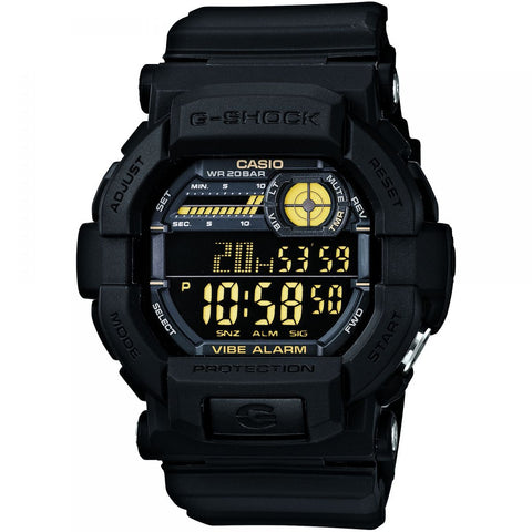 G-Shock Vibration Alarm Black GD350-1B