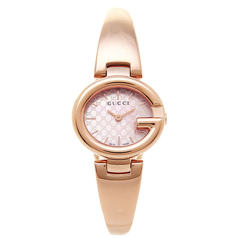 Gucci Women's G-Timeless Rose Gold Watch YA134512