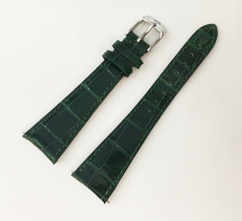 Michele Genuine Alligator Strap