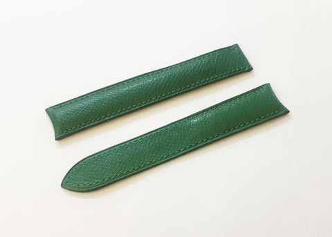 Cartier Green Alligator Leather Strap 17mm