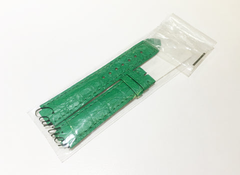 Cartier Green Alligator Strap KD2HAB83