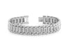 Mens Two Tone 99 Diamond Bracelet