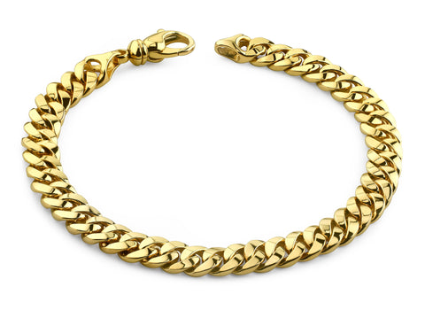 Miami Cuban Gold Chain Bracelet