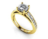 Prong Set Dazzling Diamond Engagement Ring