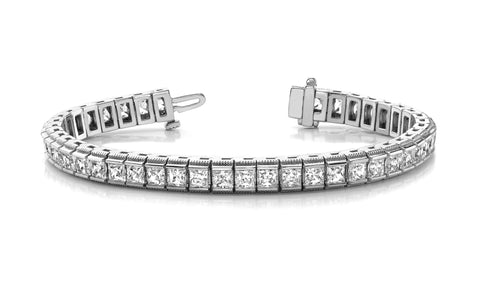 Milgrain Edge Sublime Diamond Bracelet