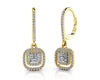 Day to Night Gemstone and Diamond Earrings