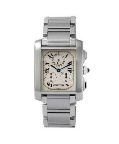 Cartier Tank Francaise Chronograph Watch 2303