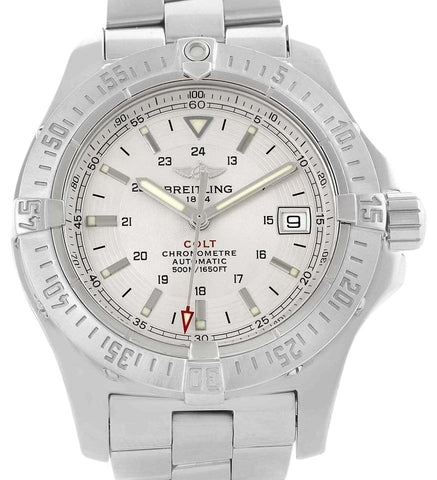 Breitling Colt Stainless Steel Mens A17380