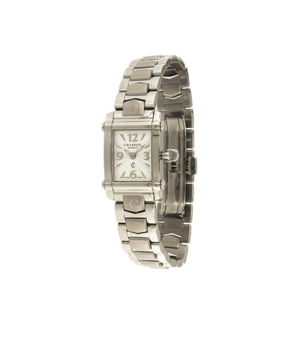 Charriol Silver Dial Rectangle Ladies CCSTRD2
