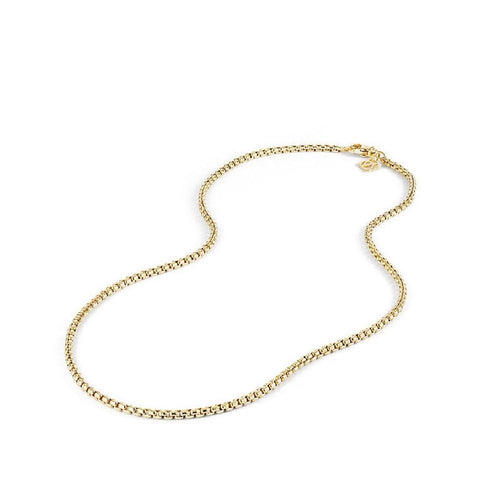 David Yurman 18k Gold Small Box Chain 18""
