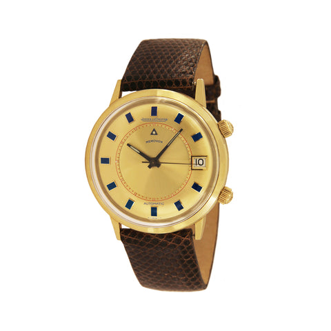 Jaeger LeCoultre Memovox 18k Yellow Gold Automatic Watch