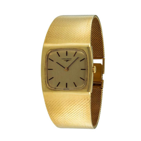 Longines Gold Rare Vintage Yellow Watch