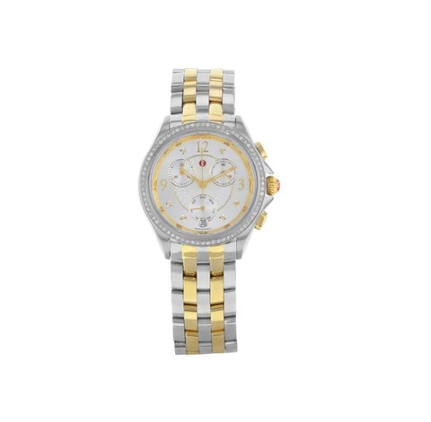 Michele Belmore Chronograph Silver Dial Ladies MWW29B000006 Watch