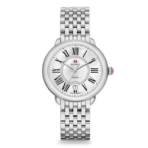 Michele Silver Serein Diamond Dial MWW21B000009 Watch
