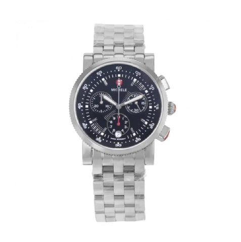 Michele Sport Sail Black Dial MWW01C000022 Watch