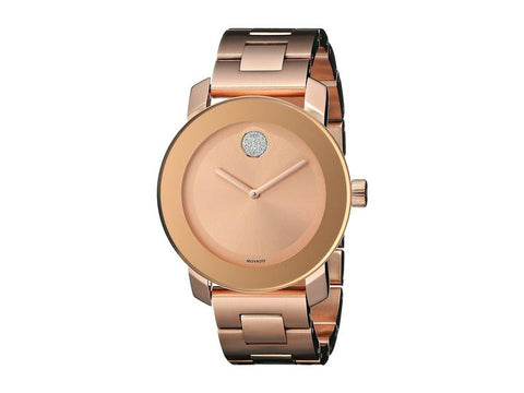 Movado Rose Gold Gold-tone Stainless Steel 3600086