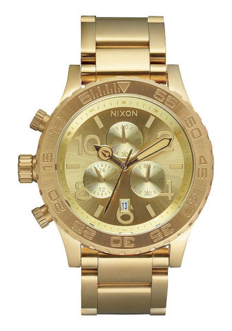 Nixon Gold 42-20 Chrono A037-502-00 Watch