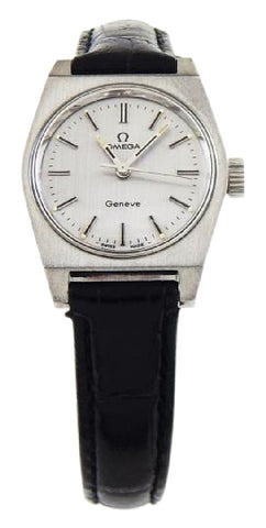 Omega Black / Silver Dial / Circa 1970's Geneve Watch