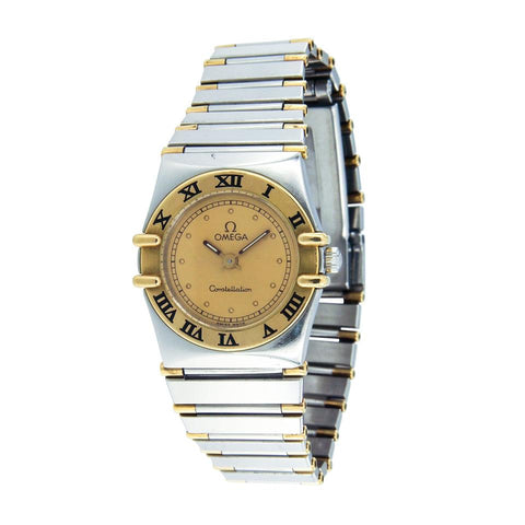 Omega Constellation 18k Gold & Stainless Steel