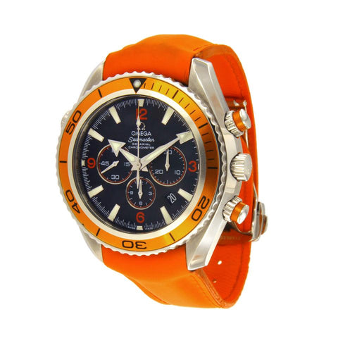 Omega Orange Seamaster Planet Ocean Chronograph 2918.50.83