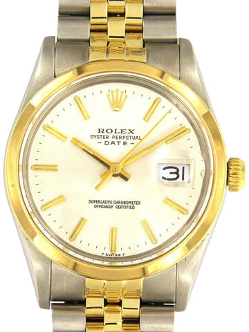 Rolex Two Tone Oyster Perpetual Date 34mm
