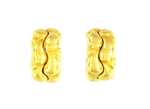 Chopard Casmir Hoop Gold Earrings