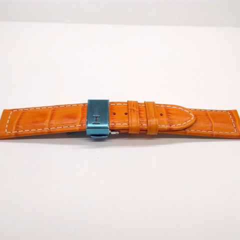 Hamilton H600776113 Orange Leather Strap