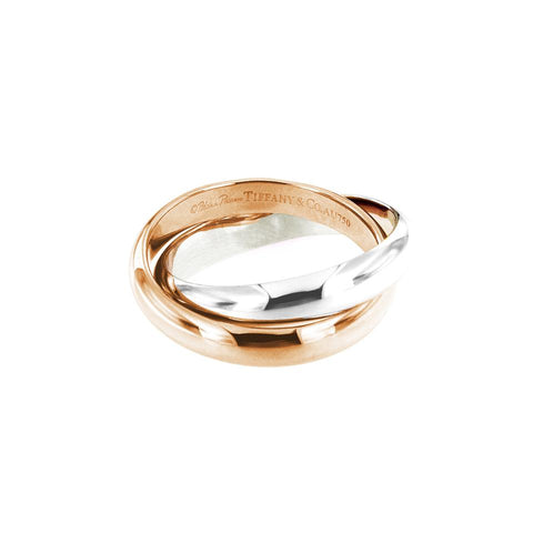 Tiffany & Co. Paloma Picasso Two-Tone Gold Calife Ring