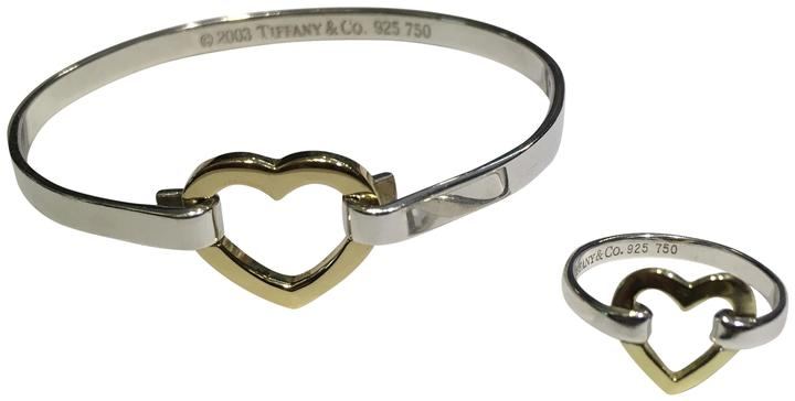 bangle personalised double sterling bracelet bangles heart baby silver