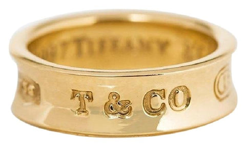 Tiffany & Co. Yellow Gold 1837 6mm Band