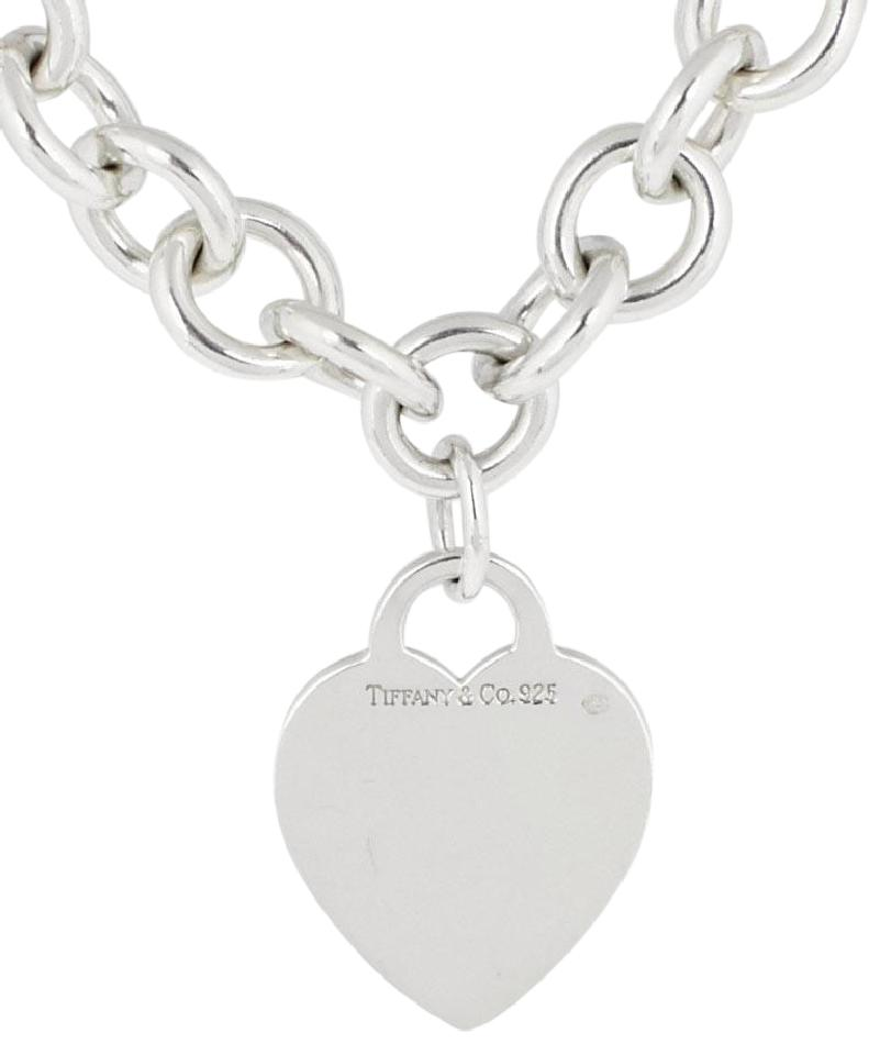 4af0bb2cd7e8 Tiffany   Co. Silver Heart Tag Necklace – Crown Jewelers