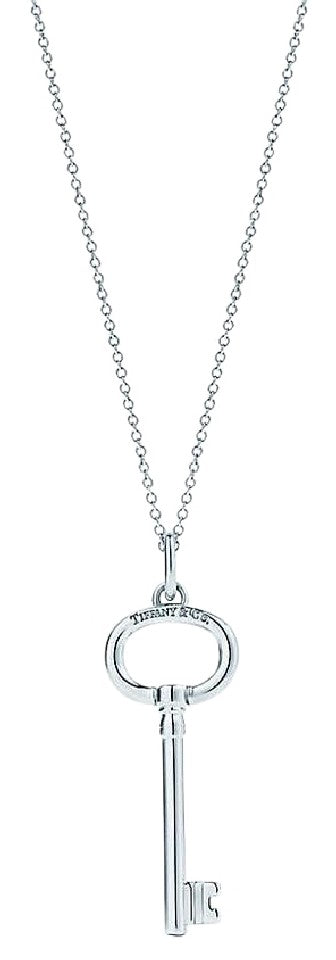 Tiffany co silver keys oval key pendant extra large charm crown tiffany co silver keys oval key pendant extra large charm aloadofball Gallery