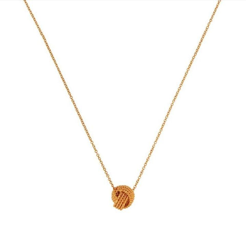 Tiffany & Co. Twist Knot 18k Rose Gold Pendant