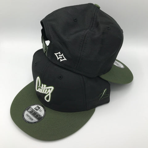 "Snapback - 1Liner Puff 3D ""Olive Green"""
