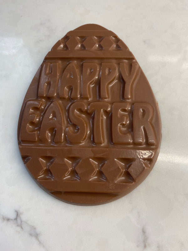 Milk Chocolate Egg Plaque