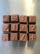 Milk Chocolate Message Symbols & Emojis