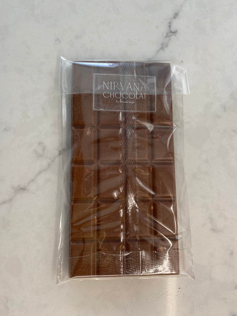Whole Nut Belgian Milk Chocolate Bar
