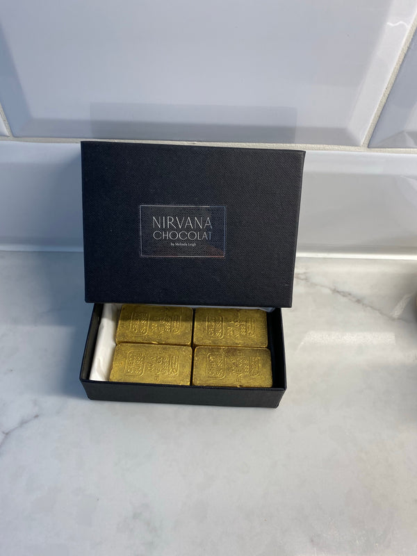 Chocolate Gold Bullion Bars