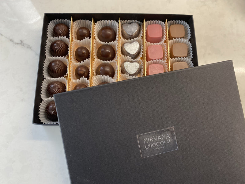Create your own Belgian Box of Chocolates