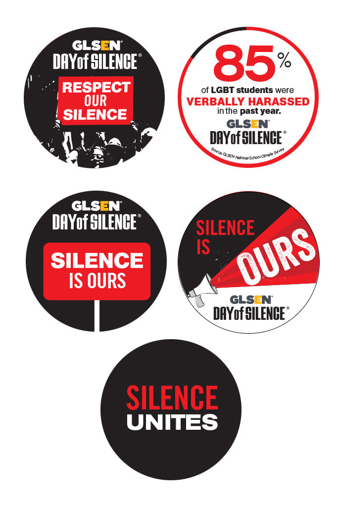 GLSEN Day of Silence Stickers