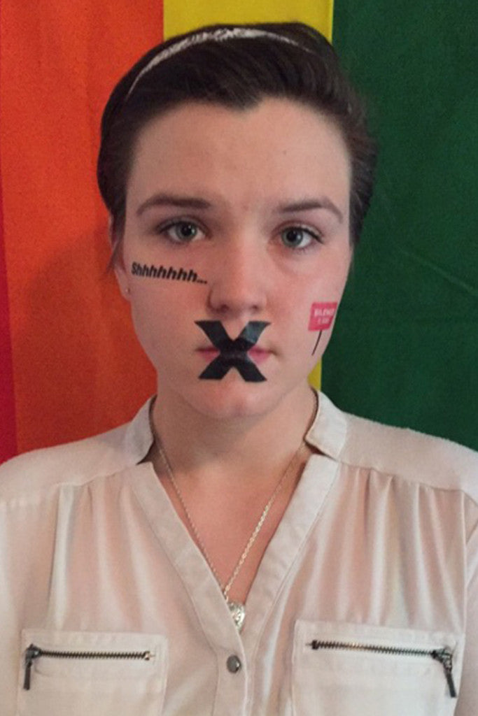 GLSEN Day of Silence Temporary Tattoos