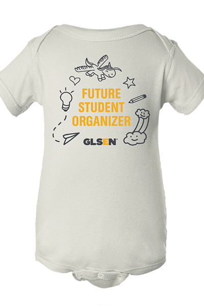 """Future Student Organizer"" All-Gender Onesie"