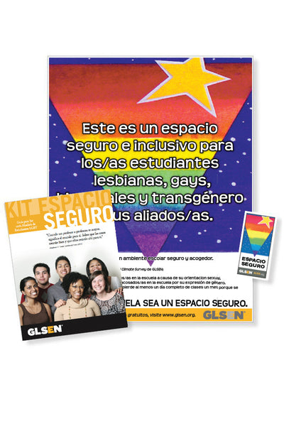 Kit Espacio Seguro de GLSEN/GLSEN Safe Space Kit - U.S. Spanish Edition