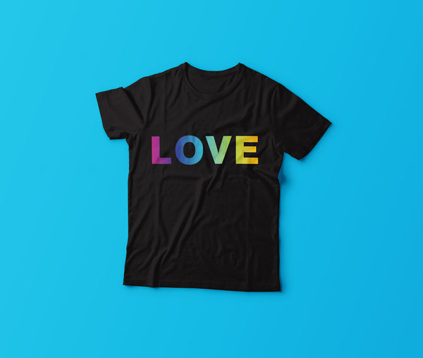 2018 GLSEN Pride Shirt: LOVE