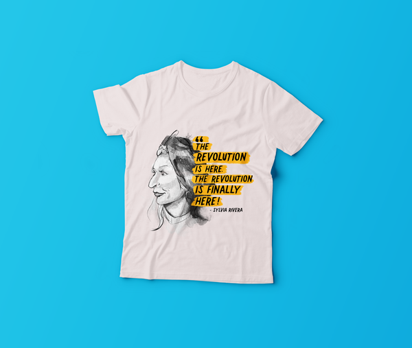 2019 GLSEN Pride Shirt: Honoring Our History, Sylvia Rivera